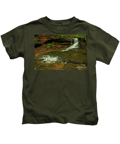 Flowing Through The Forbes State Forest Kids T-Shirt