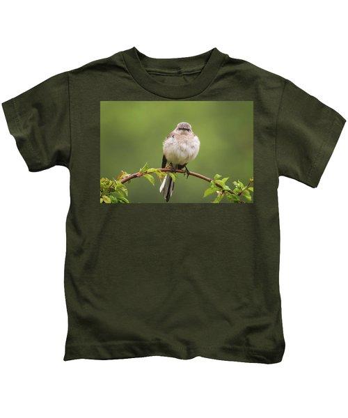 Fluffy Mockingbird Kids T-Shirt