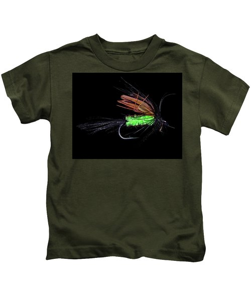 Fly-fishing 1 Kids T-Shirt