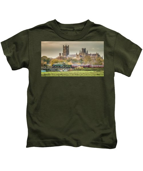 Flying Scotsman At Ely Kids T-Shirt