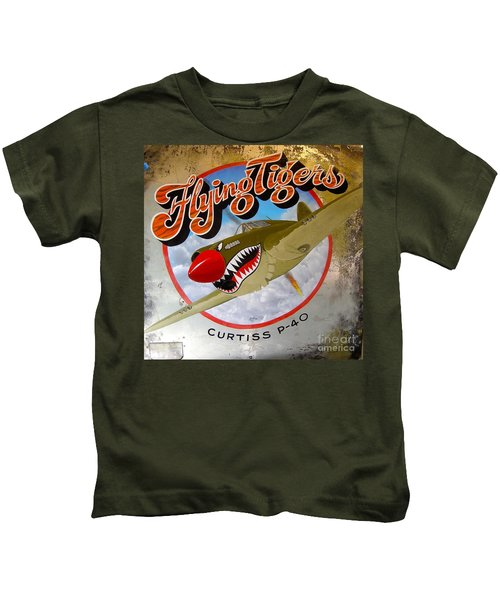 Flying Tigers Kids T-Shirt