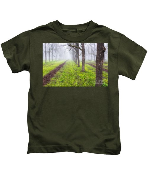 Fog And Orchard Kids T-Shirt