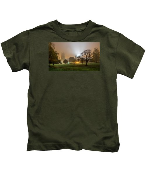 Foggy Cathedral Kids T-Shirt