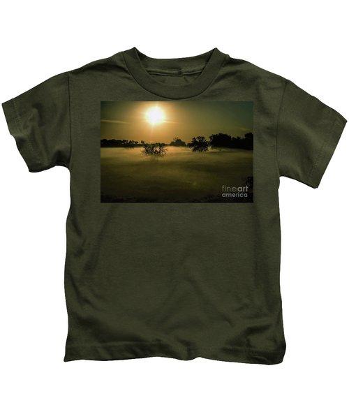 Foggy Sunrise Kids T-Shirt