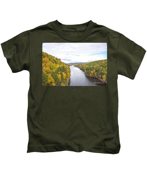 Foliage Clouds Kids T-Shirt