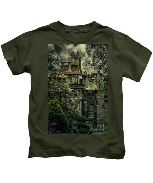Fonthill With Storm Clouds Kids T-Shirt