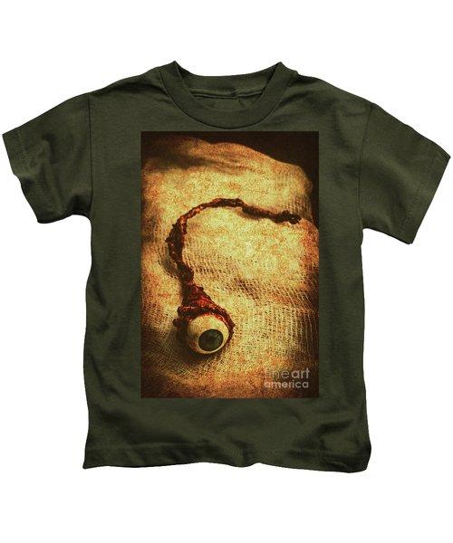 For A Bandaged Iris Kids T-Shirt