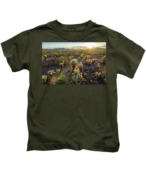 Sea Of Cholla Kids T-Shirt