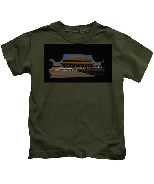 Forbidden City, Beijing Kids T-Shirt