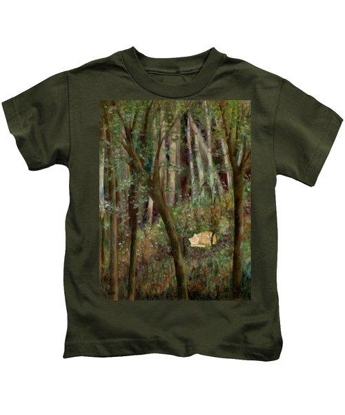 Forest Cat Kids T-Shirt