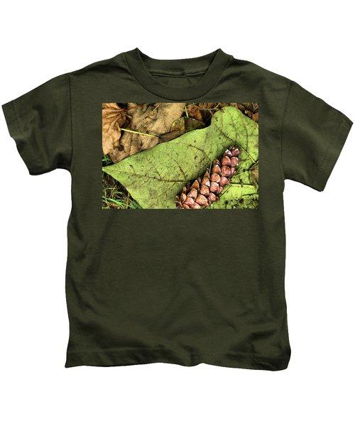 Forest Floor Still Life Kids T-Shirt
