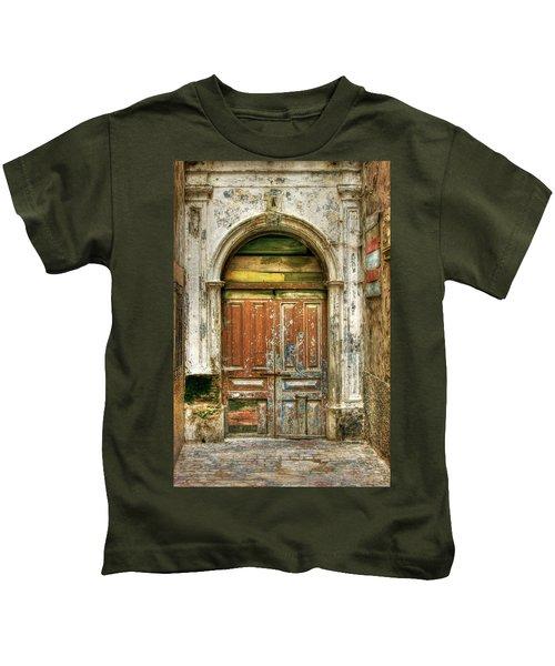 Forgotten Doorway Kids T-Shirt