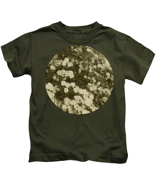 Fountain Of Blossoms Kids T-Shirt