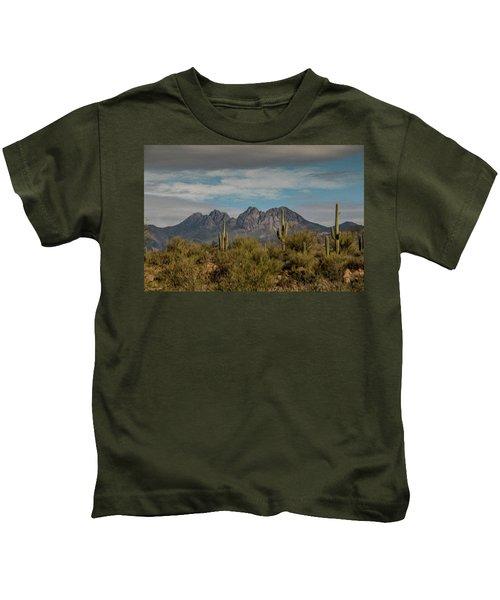 Four Peaks Painterly Kids T-Shirt