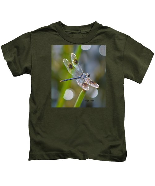 Four Spotted Pennant Kids T-Shirt