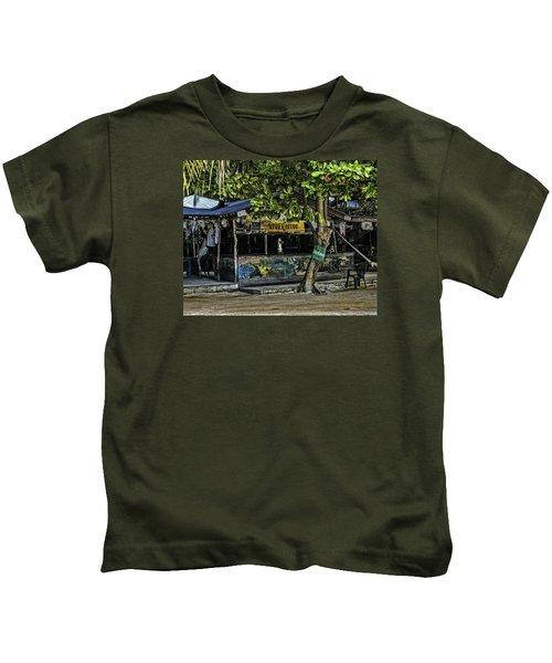 Foxy's On Jost Van Dyke Kids T-Shirt