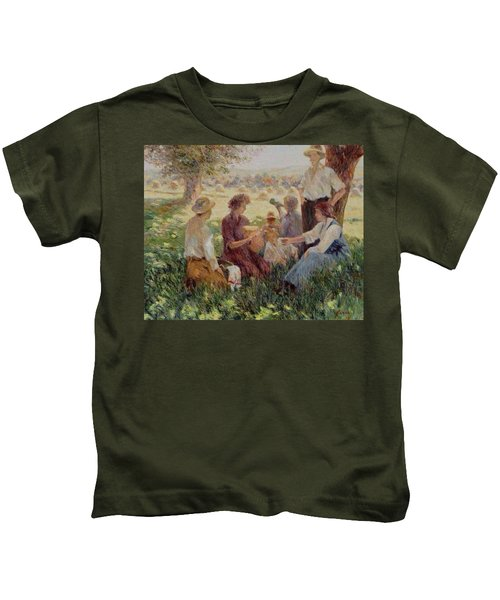 France Country Life  Kids T-Shirt