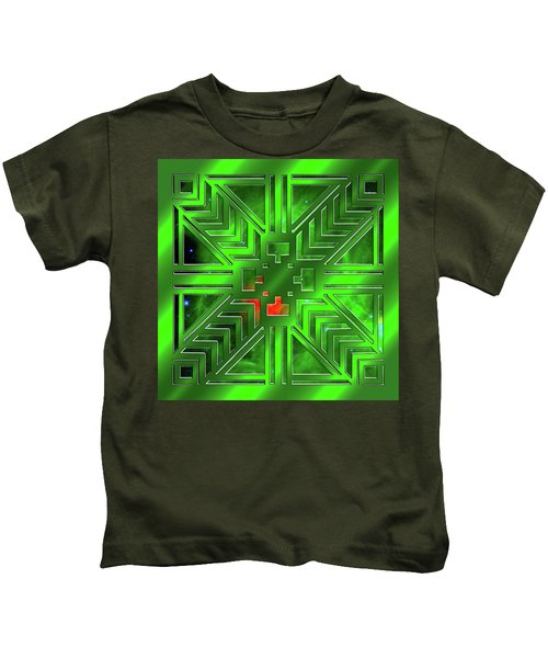 Frank Lloyd Wright Design Kids T-Shirt