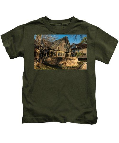 Frank Lloyd Wright Home And Studio Kids T-Shirt