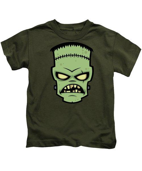 Frankenstein Monster Kids T-Shirt