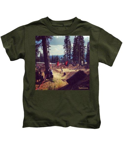 Freestyling Mtb Kids T-Shirt