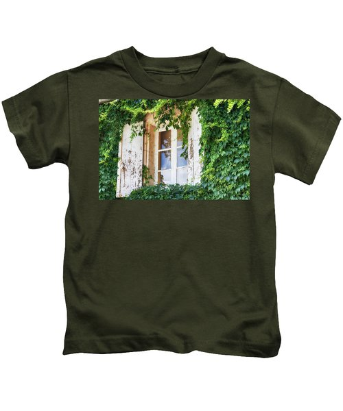 French Window In Provence Kids T-Shirt