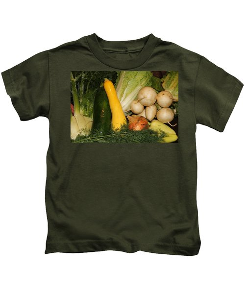 Fresh Garden Produce Kids T-Shirt