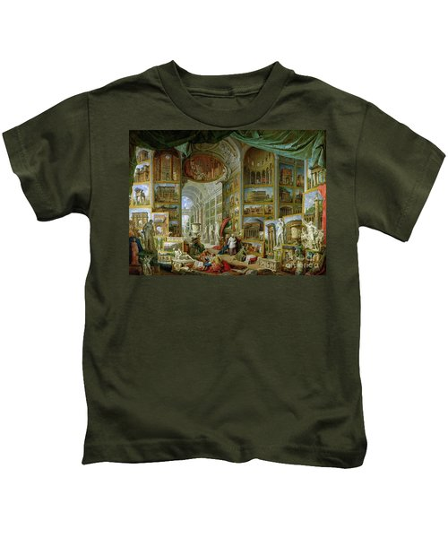 Gallery Of Views Of Ancient Rome Kids T-Shirt