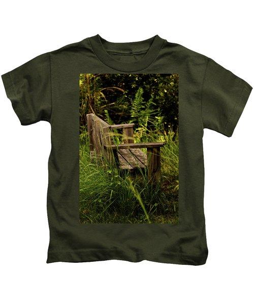 Garden Bench Kids T-Shirt