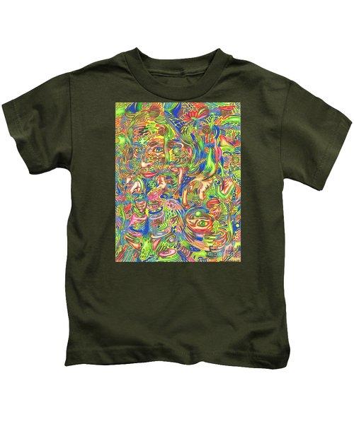 Garden Of Reflections Kids T-Shirt