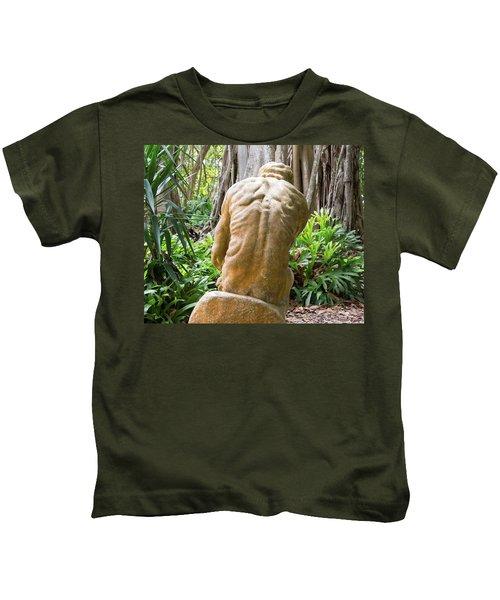 Garden Sculpture 1 Kids T-Shirt