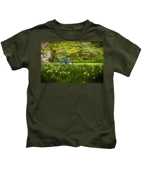 Garden Seats Kids T-Shirt