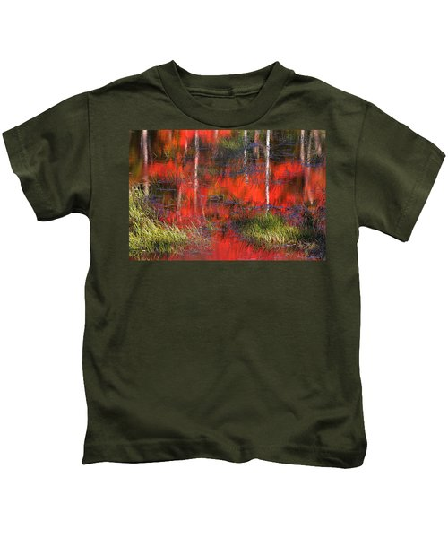 Gatineau Marsh Fall Colors Kids T-Shirt