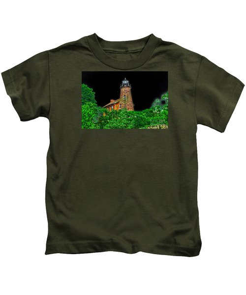 Genesee Lighthouse Kids T-Shirt