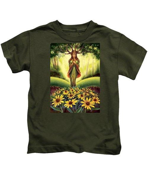 Get Grounded - Black Eyed Susan Kids T-Shirt