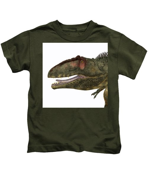 Giganotosaurus Head Kids T-Shirt
