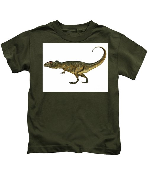 Giganotosaurus Side Profile Kids T-Shirt