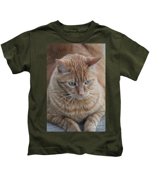 Ginger Cat Kids T-Shirt