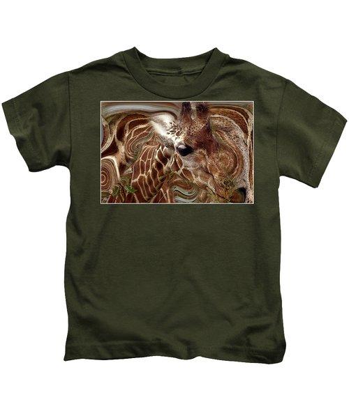 Giraffe Dreams No. 1 Kids T-Shirt