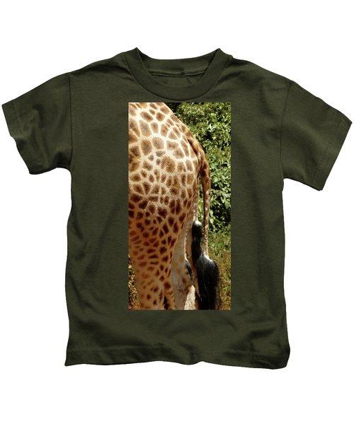 Giraffe Tails Kids T-Shirt