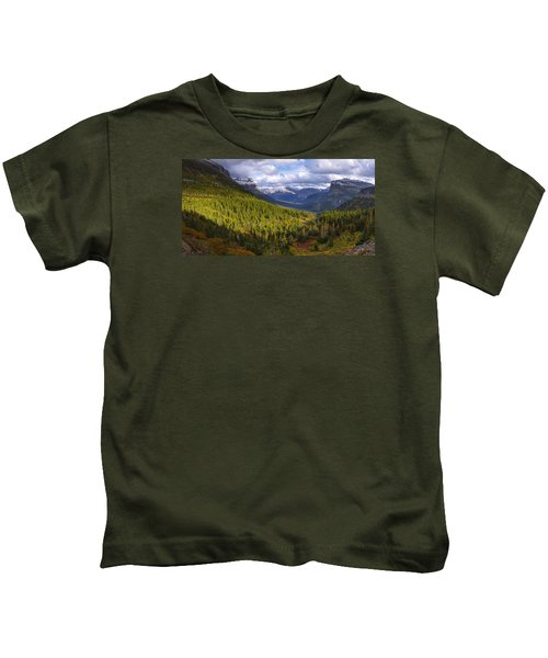 Glacier Storm Kids T-Shirt