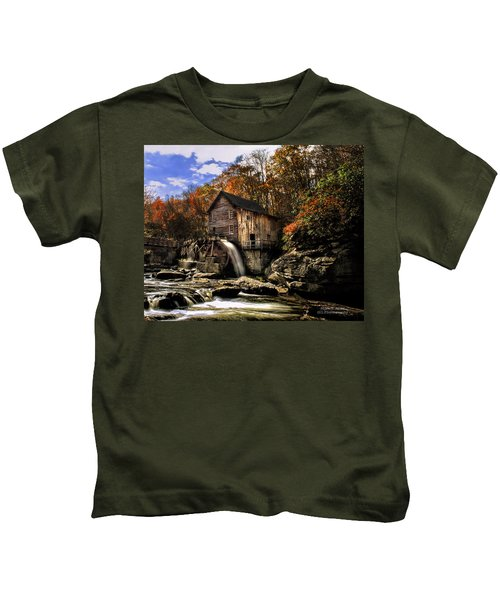 Glade Creek Grist Mill Kids T-Shirt