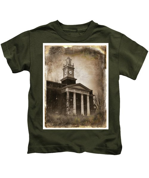 Glasgow Ky Courthouse Kids T-Shirt