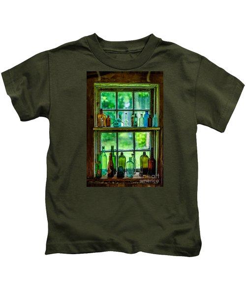 Glass Bottles Kids T-Shirt
