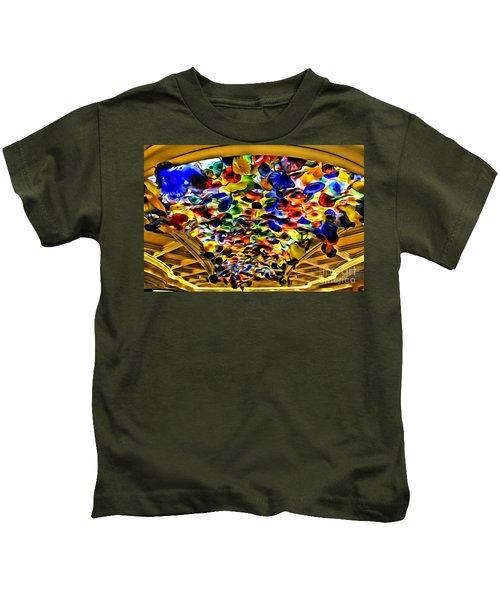 Glass Flowers Kids T-Shirt