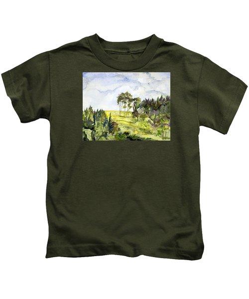 Glendalough Hillside Kids T-Shirt