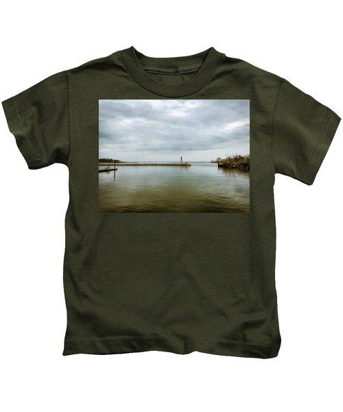 Gloom On The Bay Kids T-Shirt