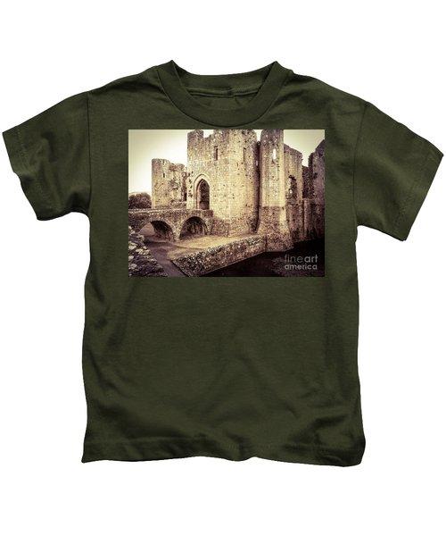 Glorious Raglan Castle Kids T-Shirt