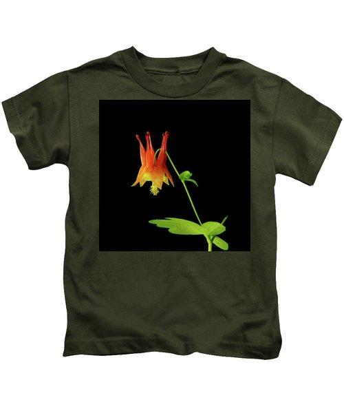 Glowing Colombine Kids T-Shirt