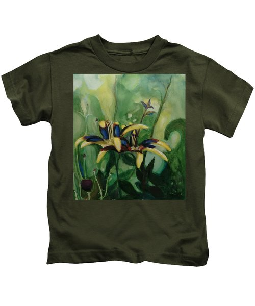 Glowing Flora Kids T-Shirt